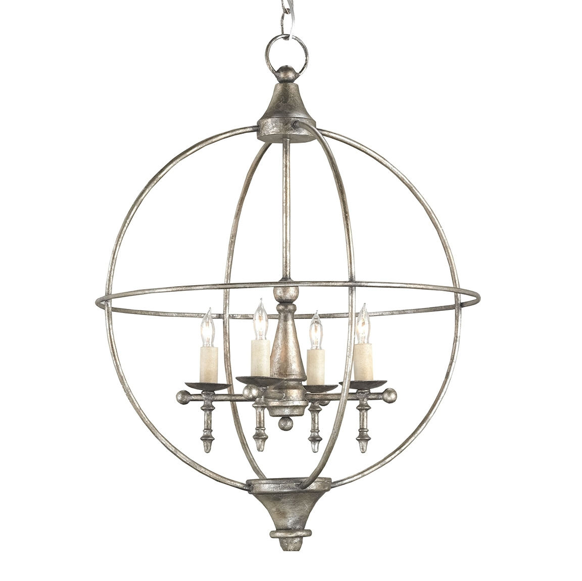 Cass Orb Chandelier Luxe Home Company Intended For Orb Chandelier (Image 5 of 15)