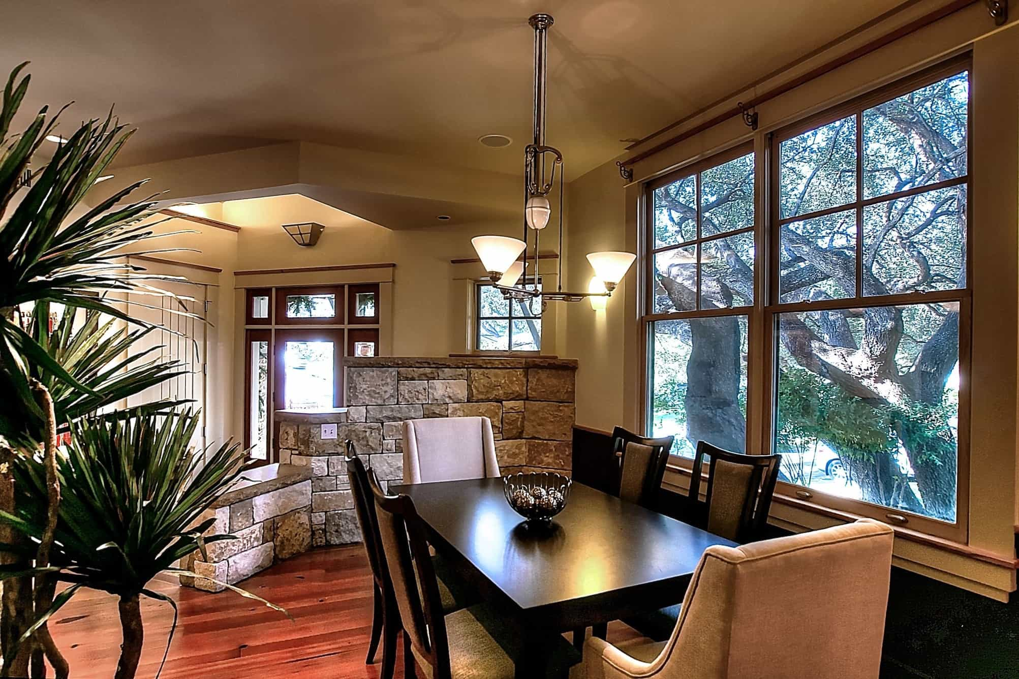 Featured Image of Casual Craftsman Dining Room Remodel With Formal Nuance