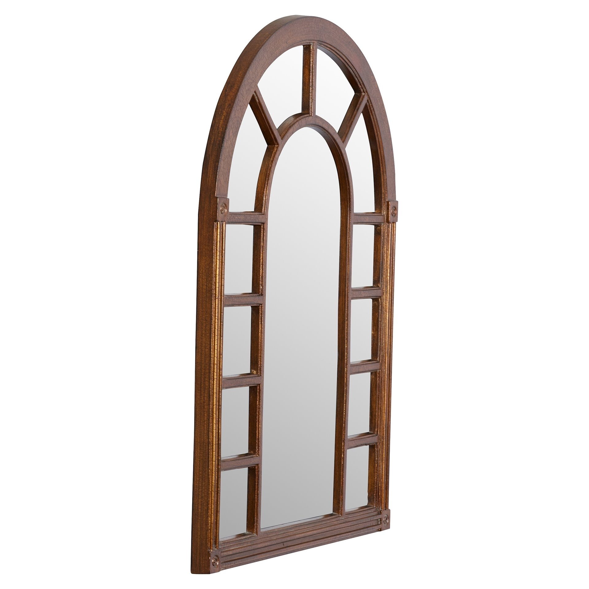 Cathedral Arched Oversized Wall Mirror Reviews Joss Main Inside Arched Wall Mirror (Image 5 of 15)