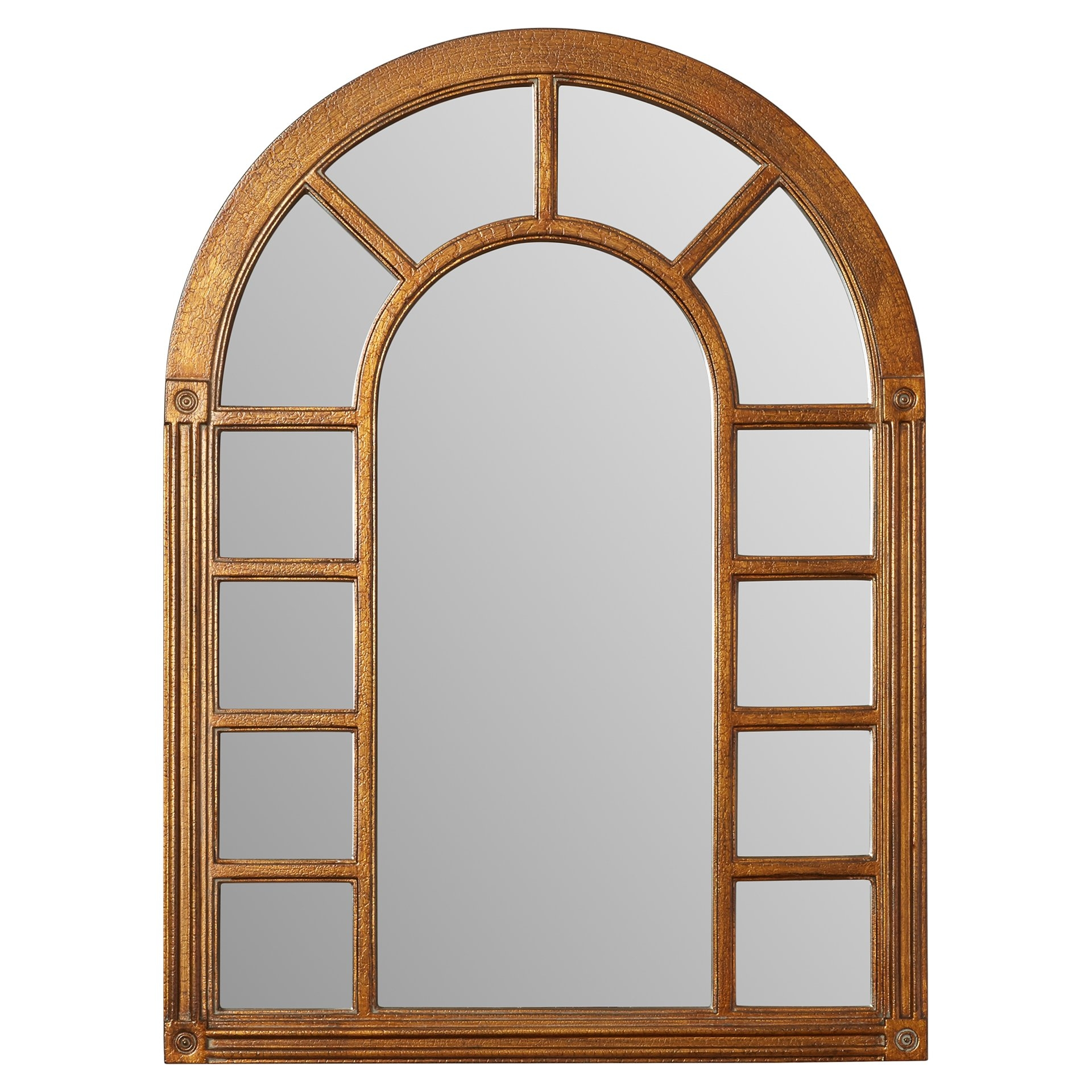 Cathedral Arched Oversized Wall Mirror Reviews Joss Main Throughout Arched Wall Mirror (Image 7 of 15)