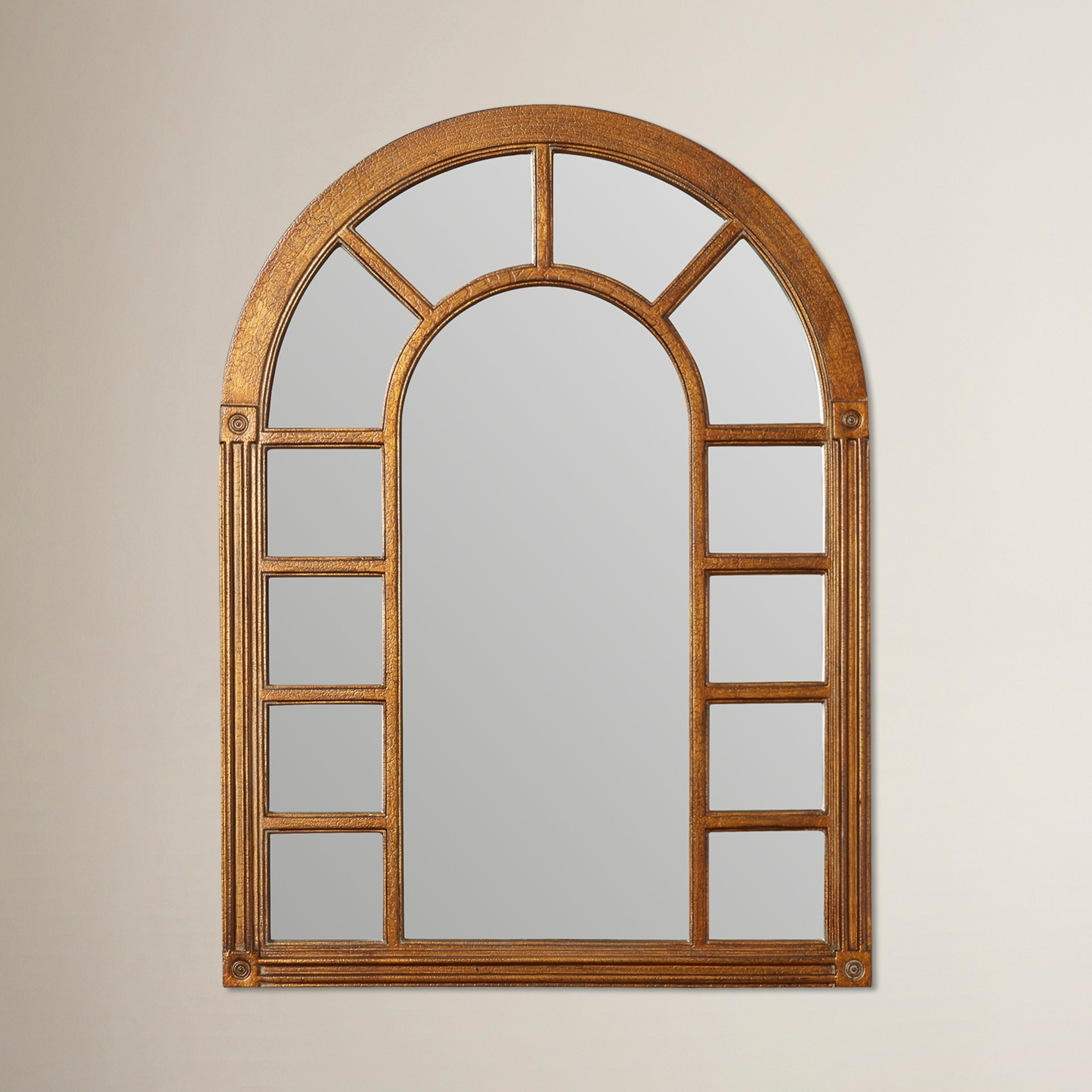 Cathedral Arched Oversized Wall Mirror Reviews Joss Main Throughout Arched Wall Mirror (Image 6 of 15)