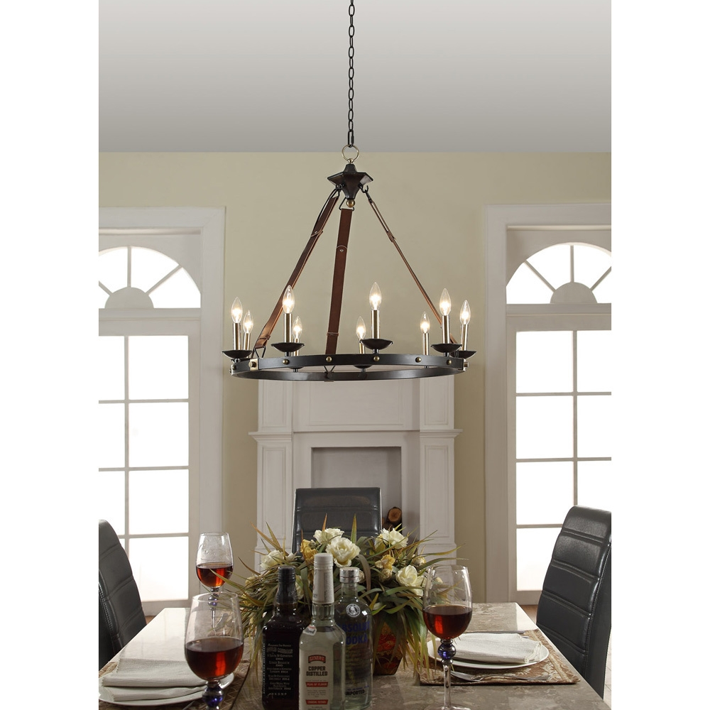 Cavalier 9 Light Black Chandelier Aesthetics Shopping And The Throughout Large Black Chandelier (Image 2 of 15)