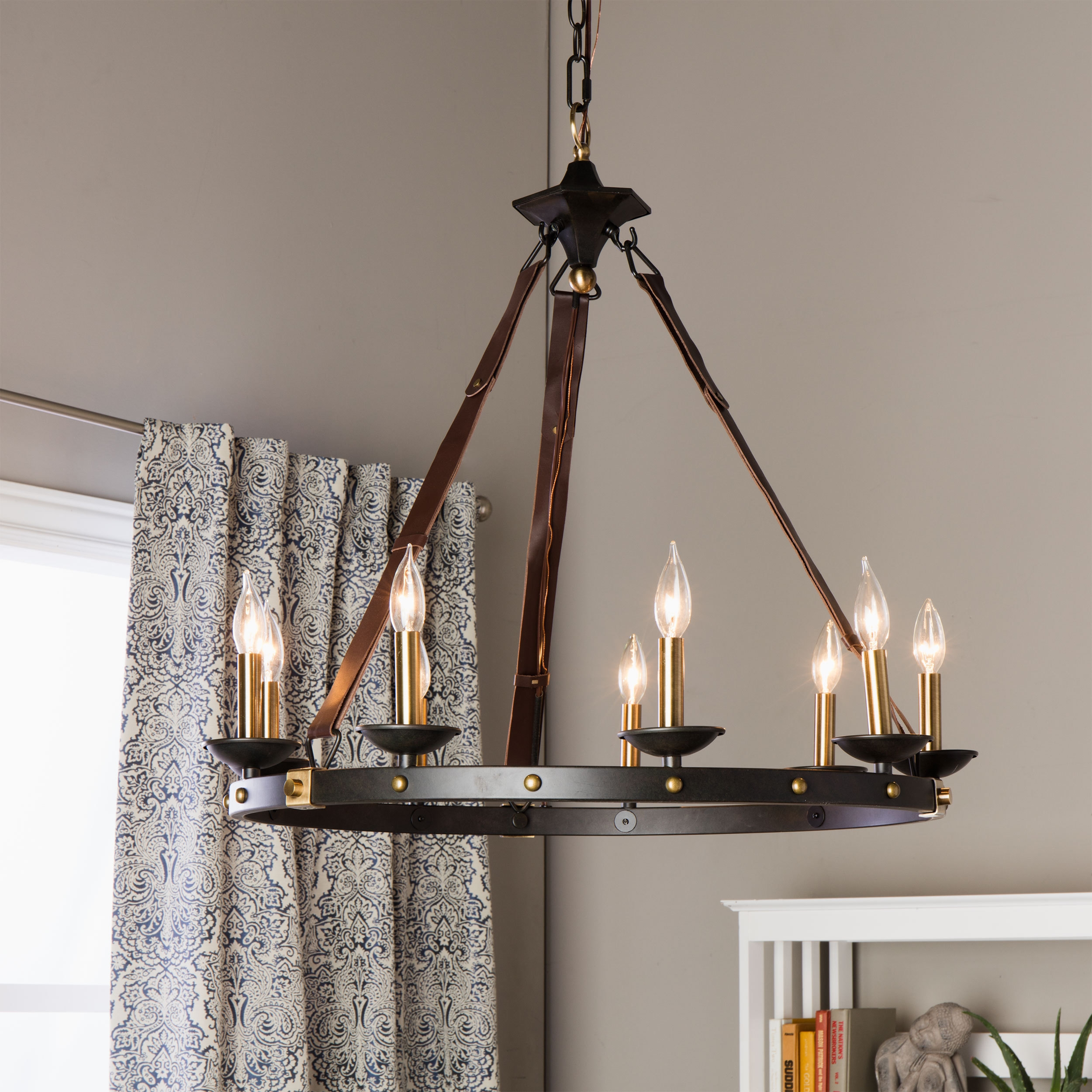 Cavalier 9 Light Black Chandelier Black Chandelier Aesthetics For Large Black Chandelier (Photo 5 of 15)