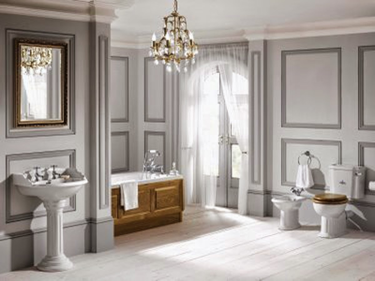 Cbid Home Decor And Design Glamorous Bathrooms Guest Post Regarding Chandeliers For Bathrooms (View 7 of 15)