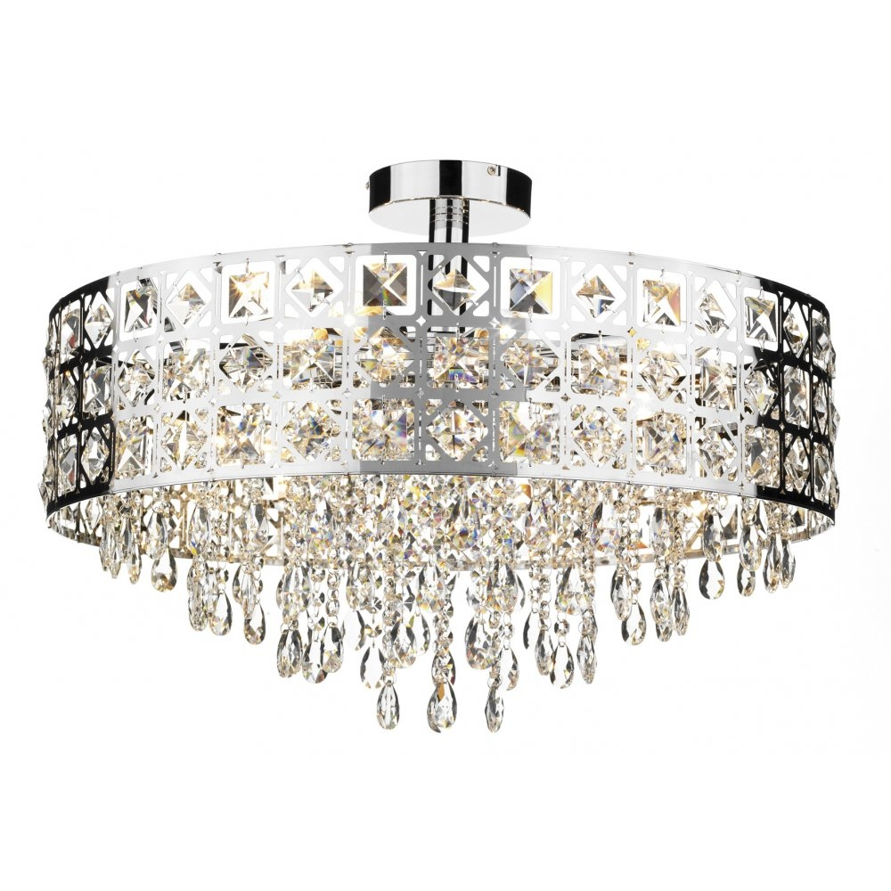 Ceiling Lighting Chandeliers With Regard To Your Property Within Chandelier For Low Ceiling (Image 3 of 15)