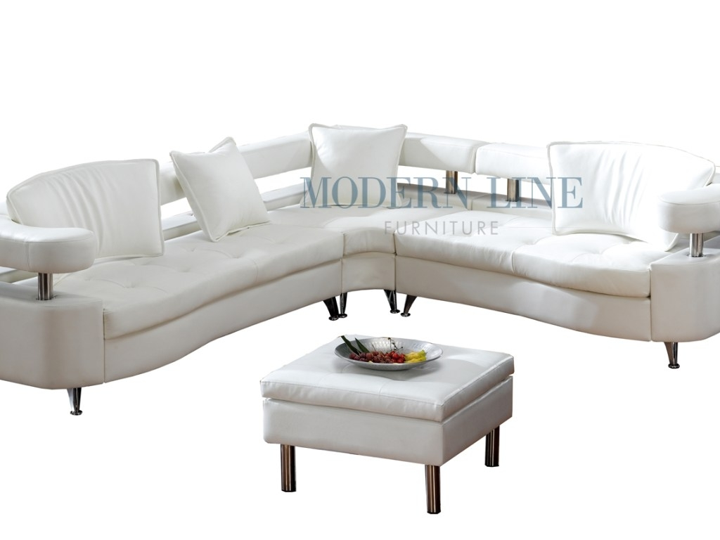 Chairs 55 Stunning Sectional Sofa 8224w Modern Line Furniture In Custom Made Sectional Sofas (View 15 of 15)