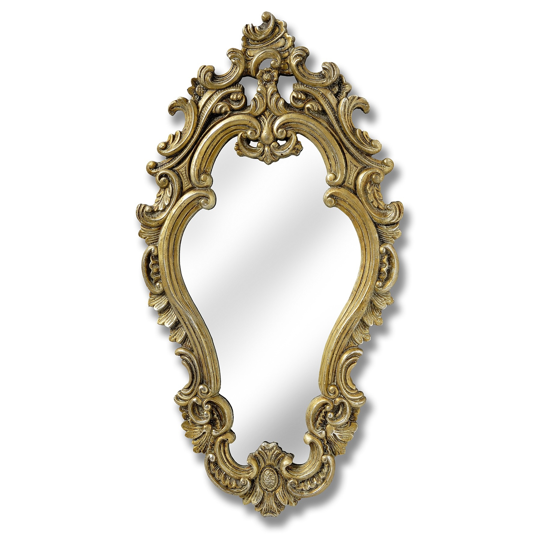 Champagne Gold Mirror Throughout Elaborate Mirrors (Image 6 of 15)