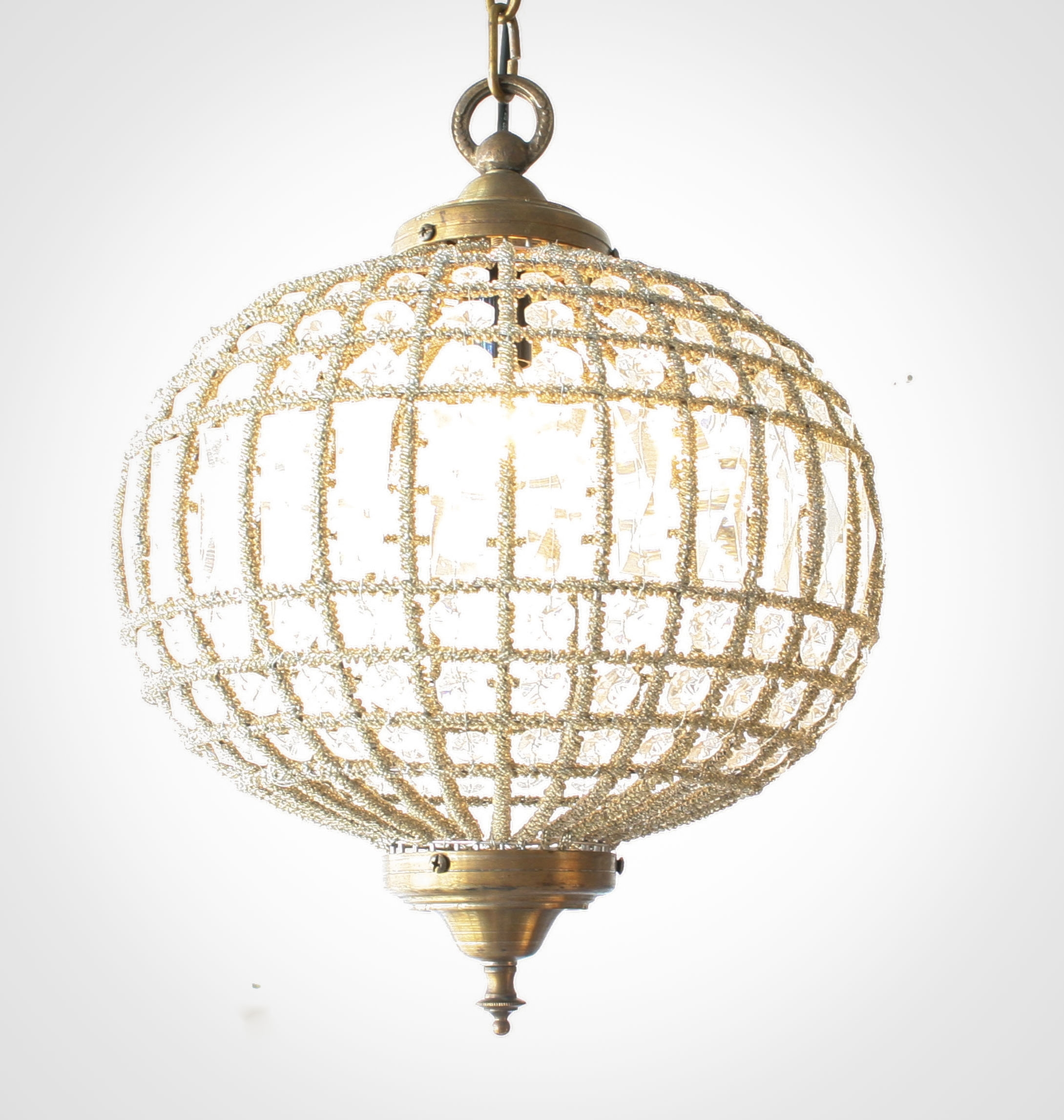 Featured Image of Globe Crystal Chandelier