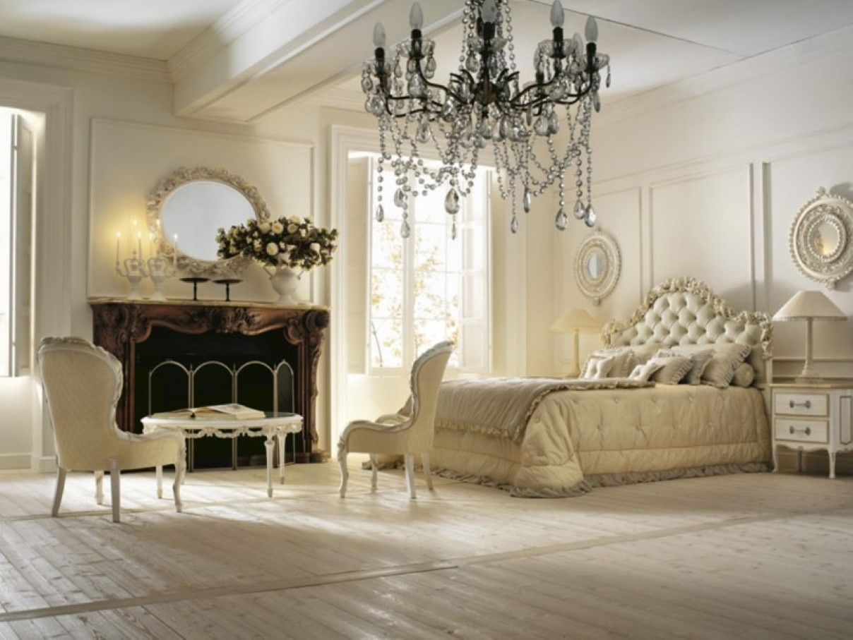 Chandelier Awesome Bedroom Chandeliers Ideas Chandeliers For Intended For Cream Crystal Chandelier (Image 6 of 15)
