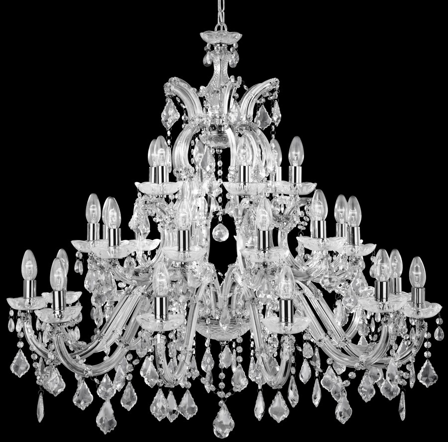 Chandelier Awesome Large Crystal Chandelier Big Modern Chandelier Throughout Big Chandeliers (Image 6 of 15)
