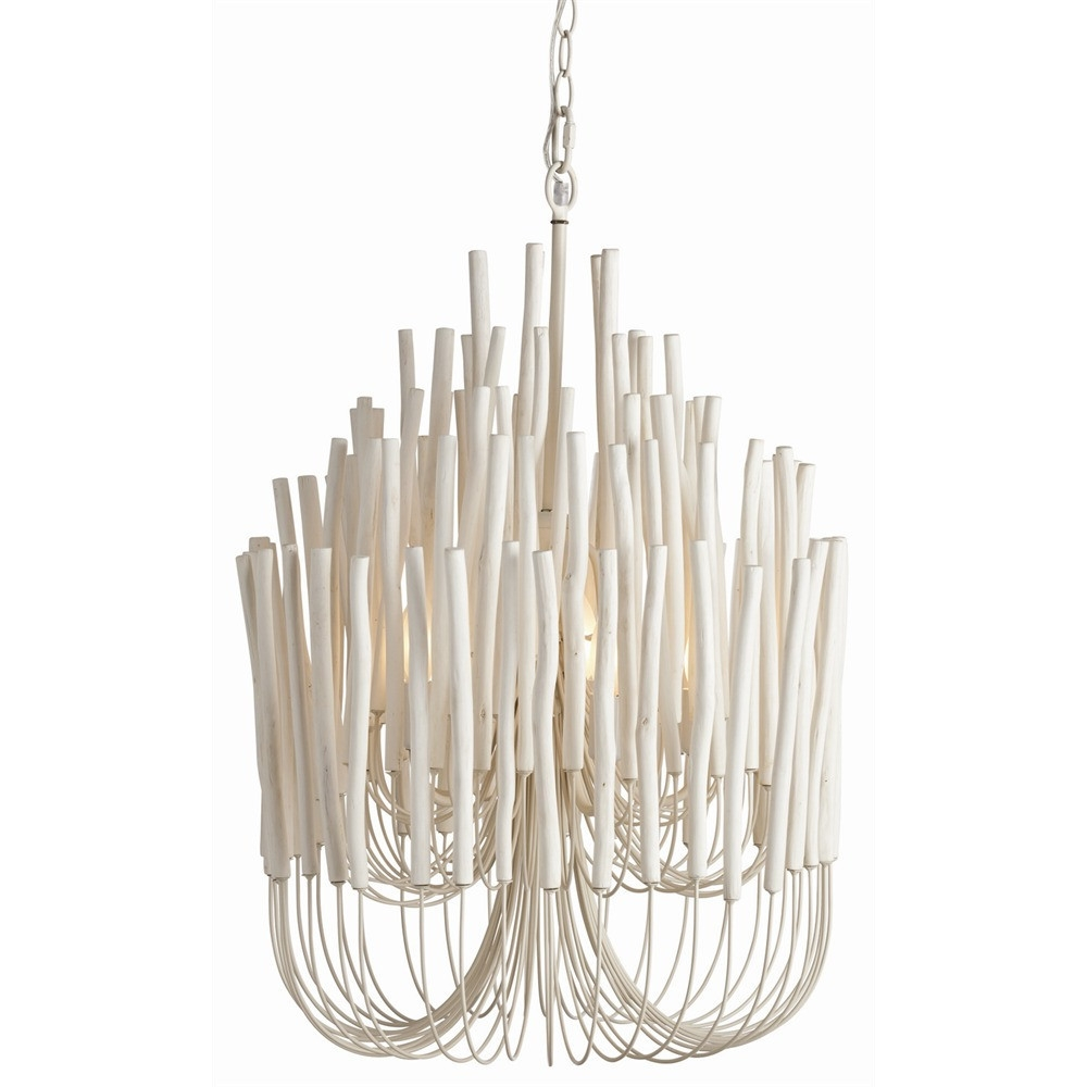 Featured Image of Modern White Chandelier