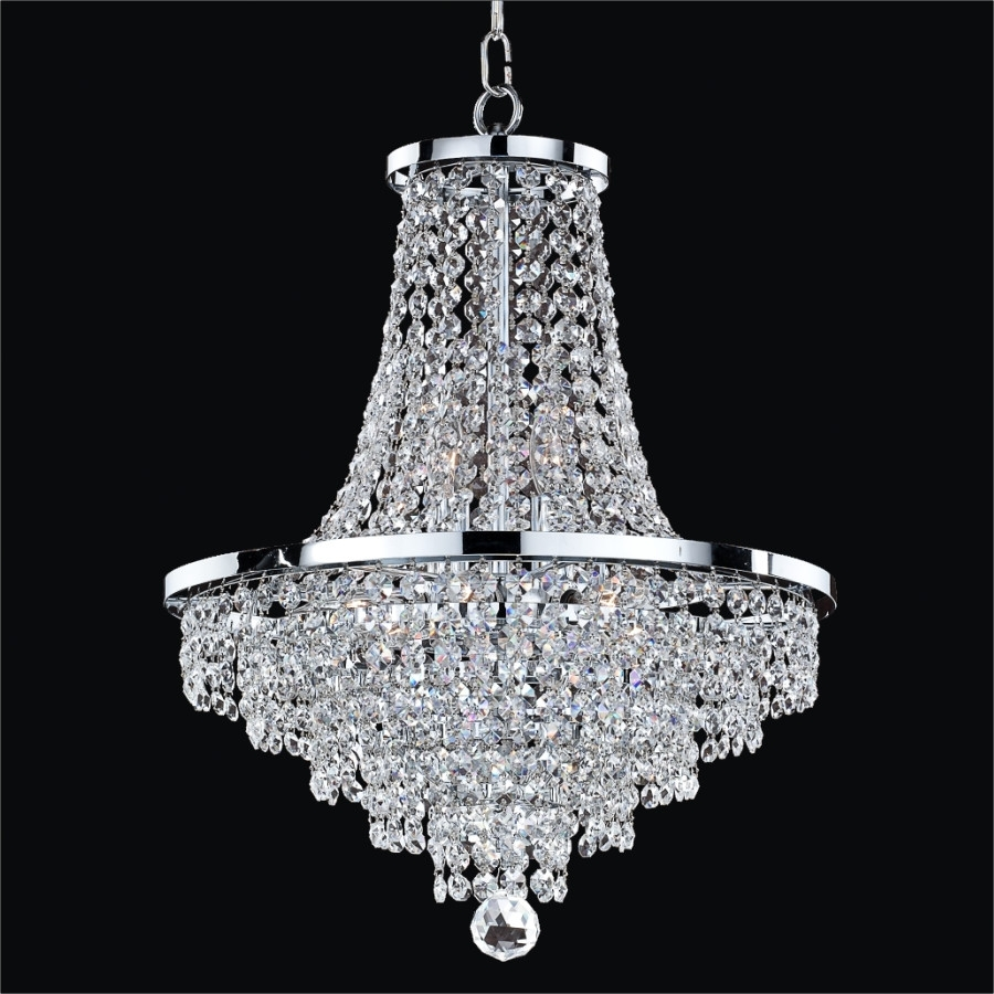 Chandelier Cheap Chandeliers Contemporary 2017 Collection Wayfair Inside Modern Silver Chandelier (Photo 6 of 15)