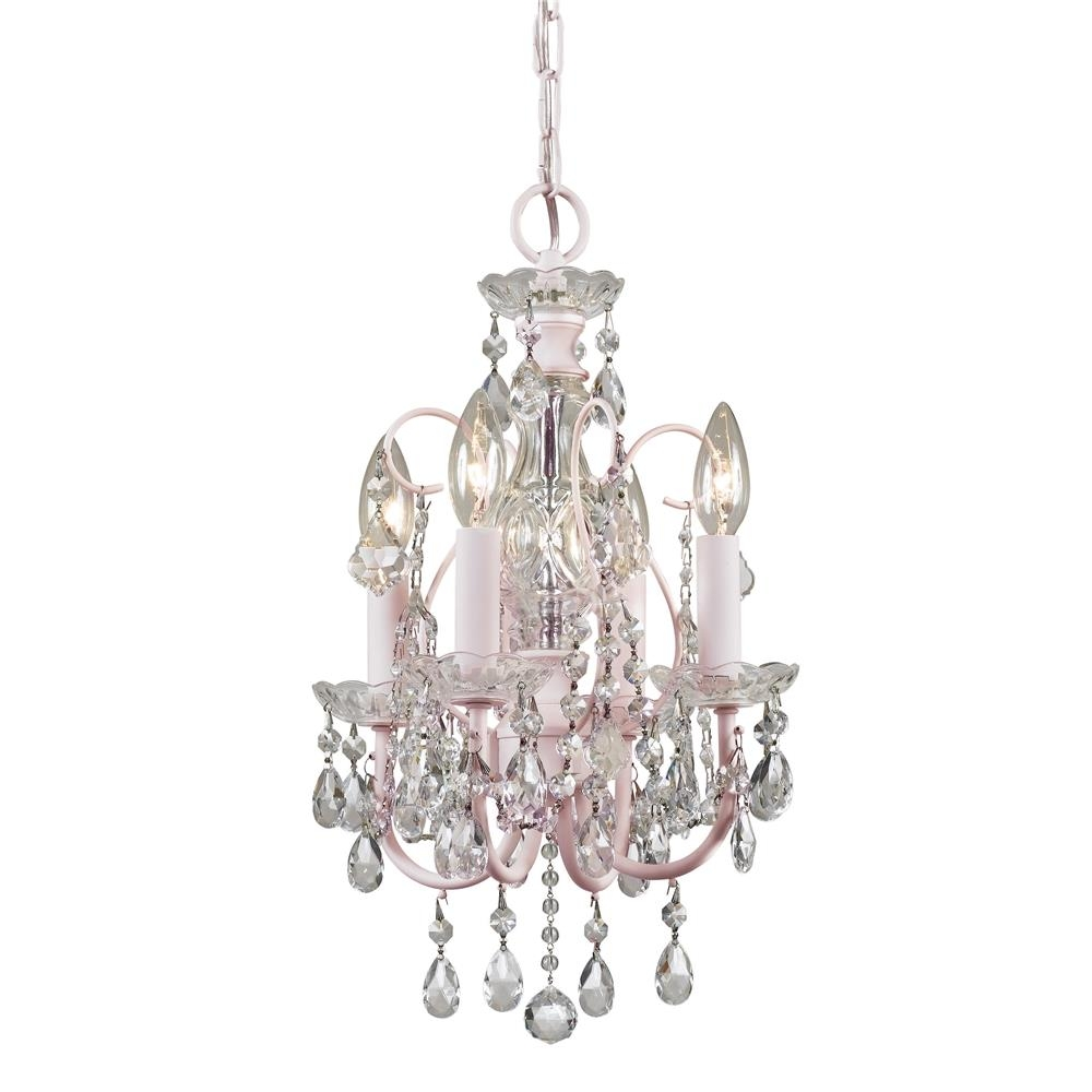 Chandelier Excellent Small Chandeliers Mini Chandelier Lowes With Regard To Small Chandeliers (Image 5 of 15)