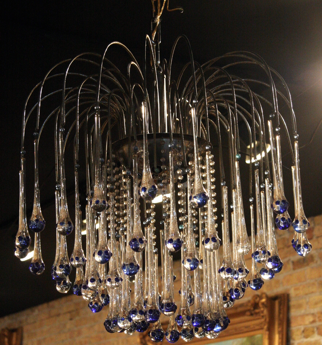 Chandelier For French Glass Chandelier (Image 5 of 15)
