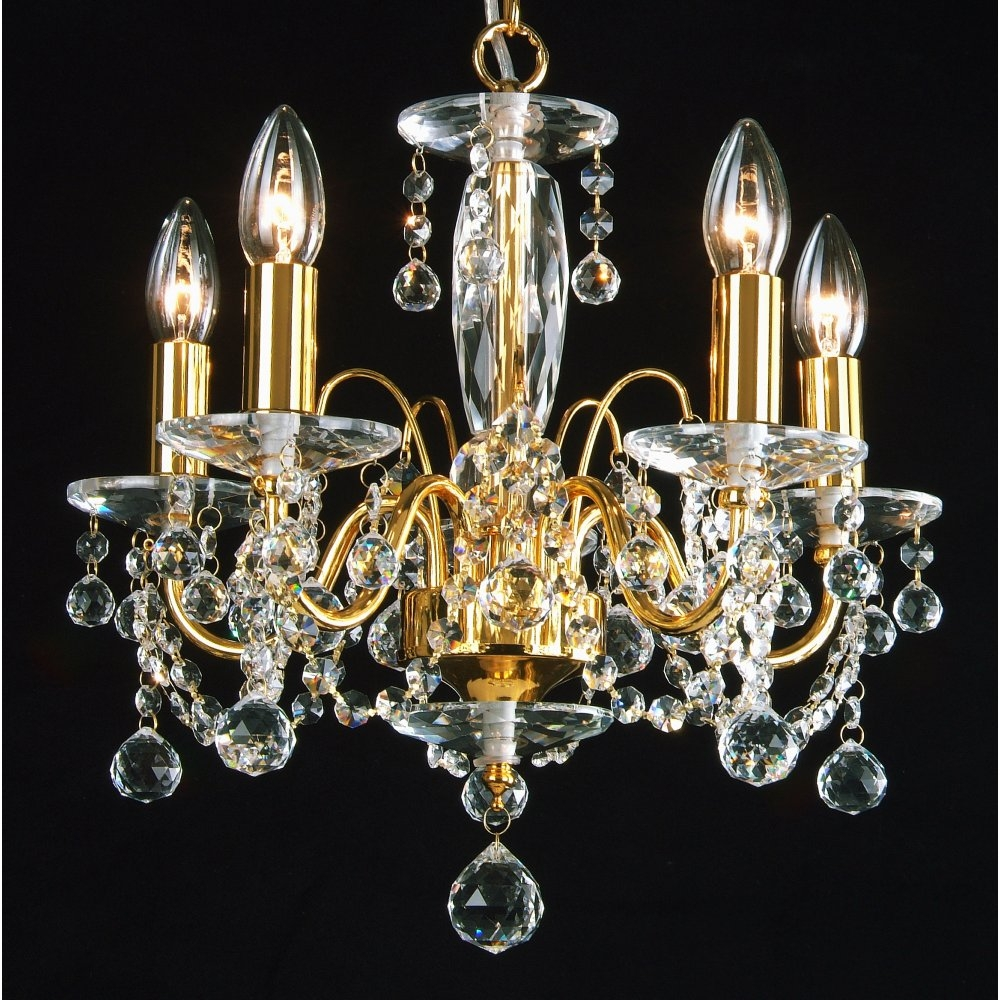 Chandelier Stunning Gold Chandeliers Crystal And Gold Chandeliers For Crystal Gold Chandelier (Image 7 of 15)