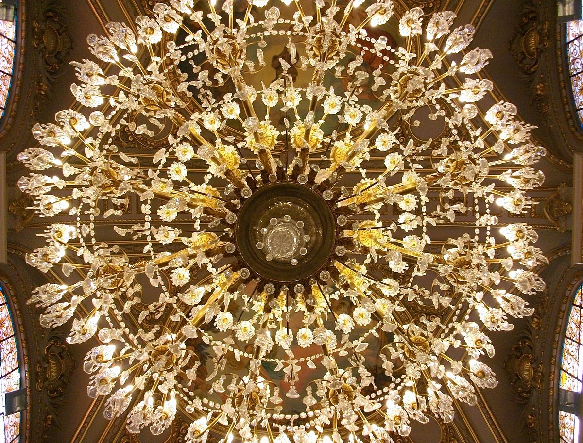 Chandelier Wikipedia With Expensive Crystal Chandeliers (Image 4 of 15)