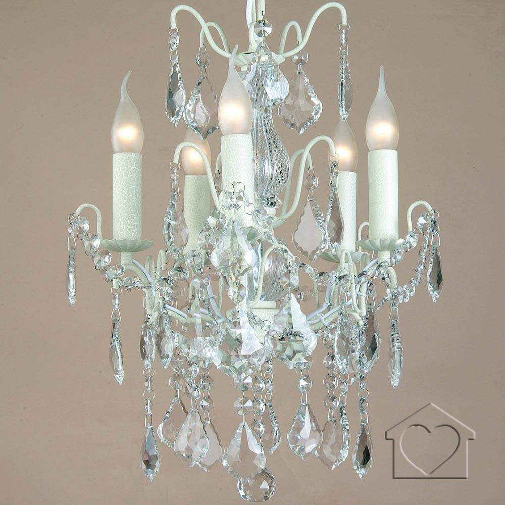 Chandeliers A Great Range Of Chandeliers From Listers Interiors In Cream Chandelier (Image 5 of 15)
