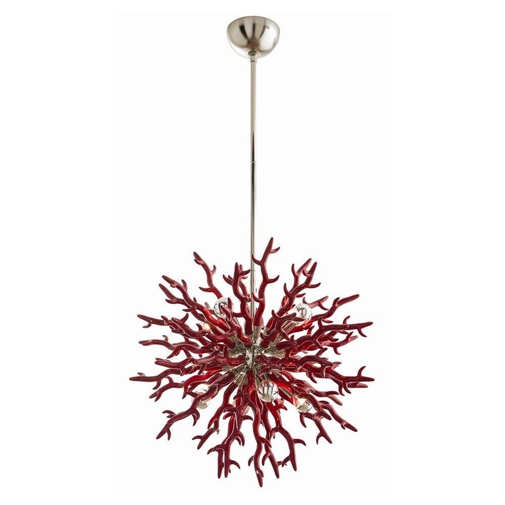 Chandeliers And Pendants On Sale Weekly Design Deals March 12 2014 In Small Red Chandelier (Image 8 of 15)