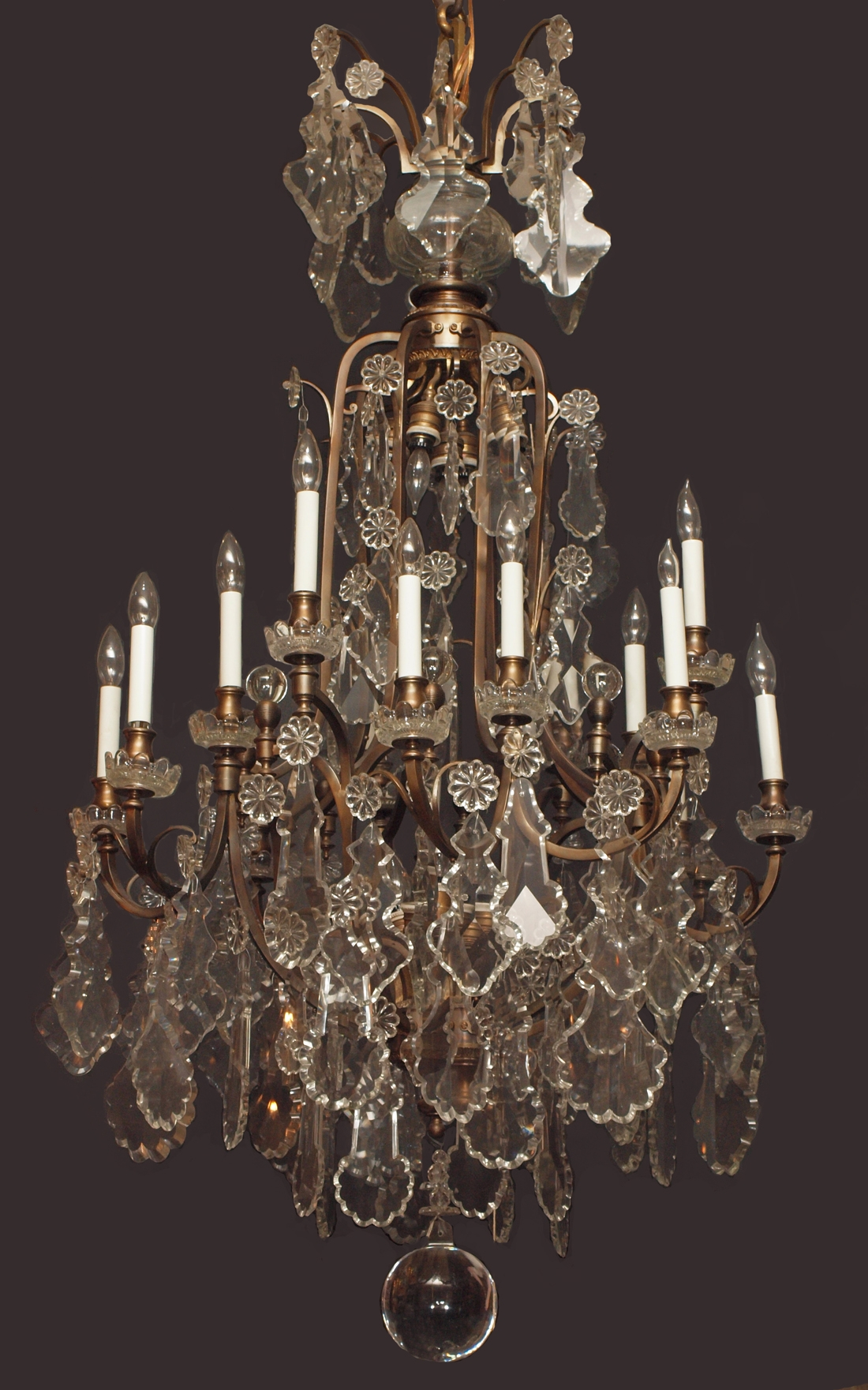 Chandeliers Antiques Chandeliers And French In Vintage French Chandeliers (Image 8 of 15)