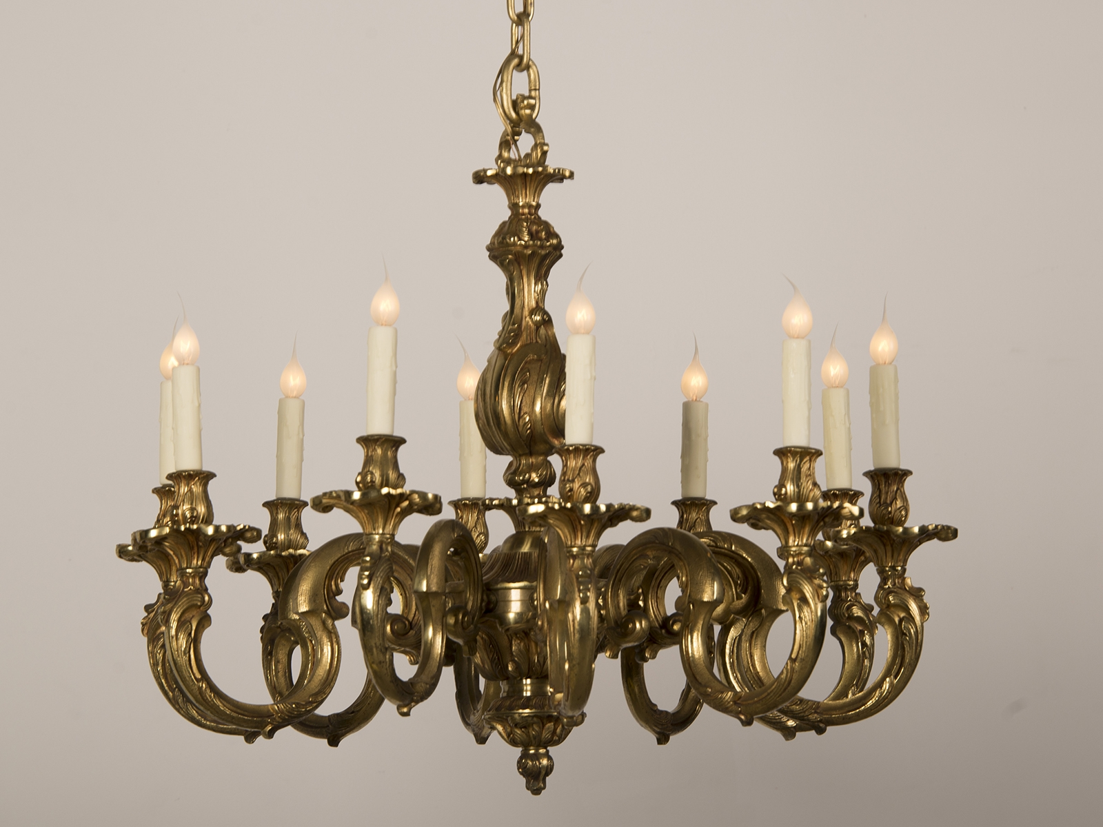 Chandeliers Carl Moore Antiques Throughout French Bronze Chandelier (Image 8 of 15)