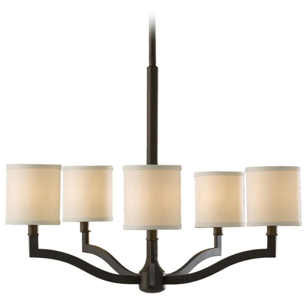 Featured Image of Bronze Modern Chandelier