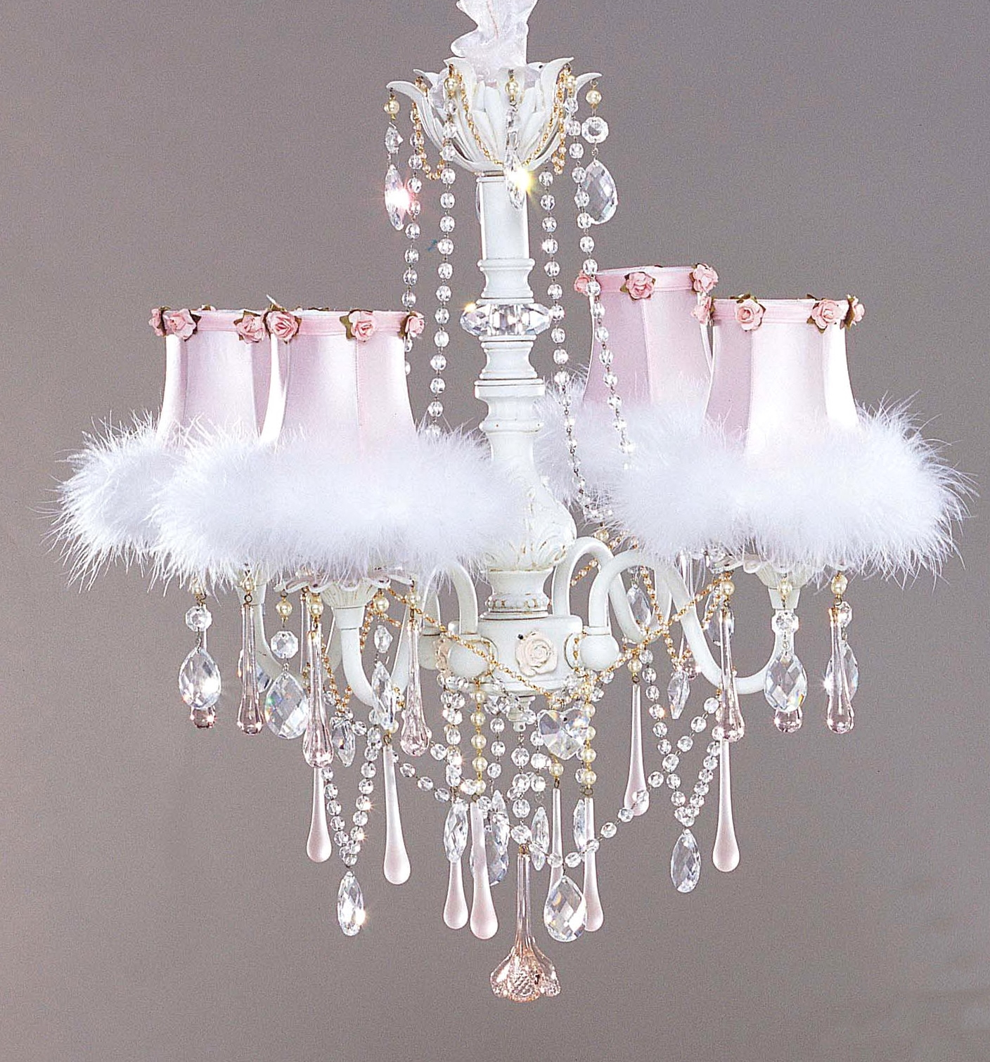 Chandeliers For Girl With Chandelier Girls Bedroom Small In Small Shabby Chic Chandelier (Image 4 of 15)