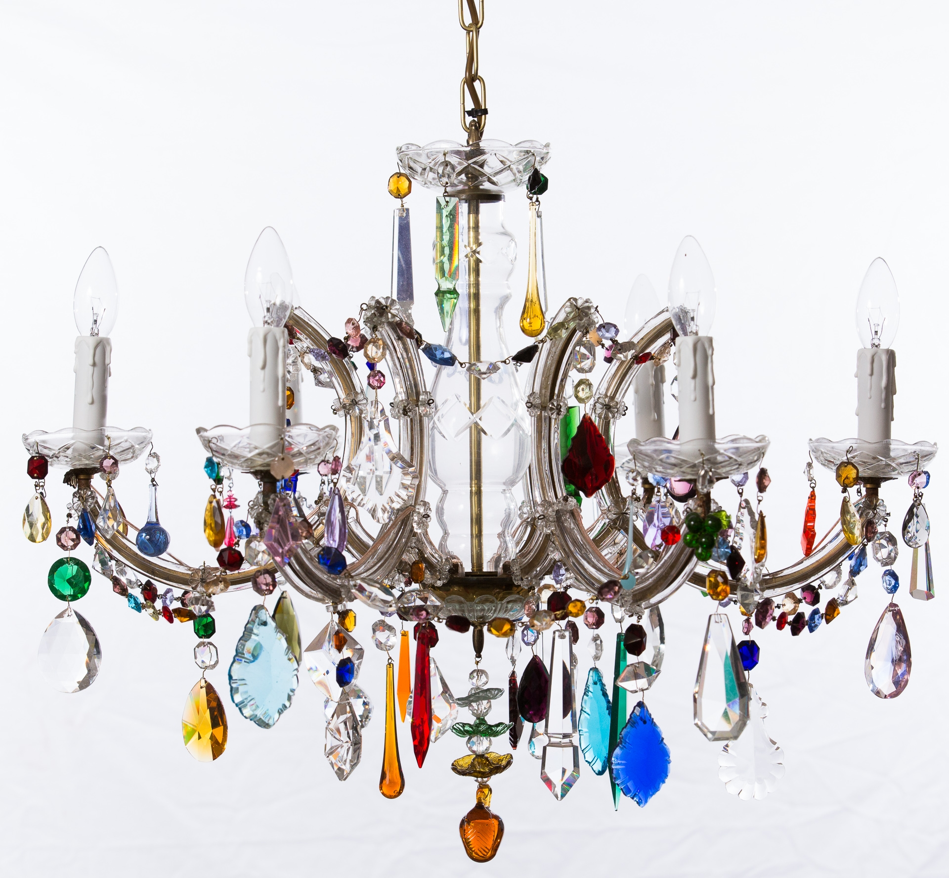Chandeliers Honeybee Interiors Pertaining To Colourful Chandeliers (Image 7 of 15)