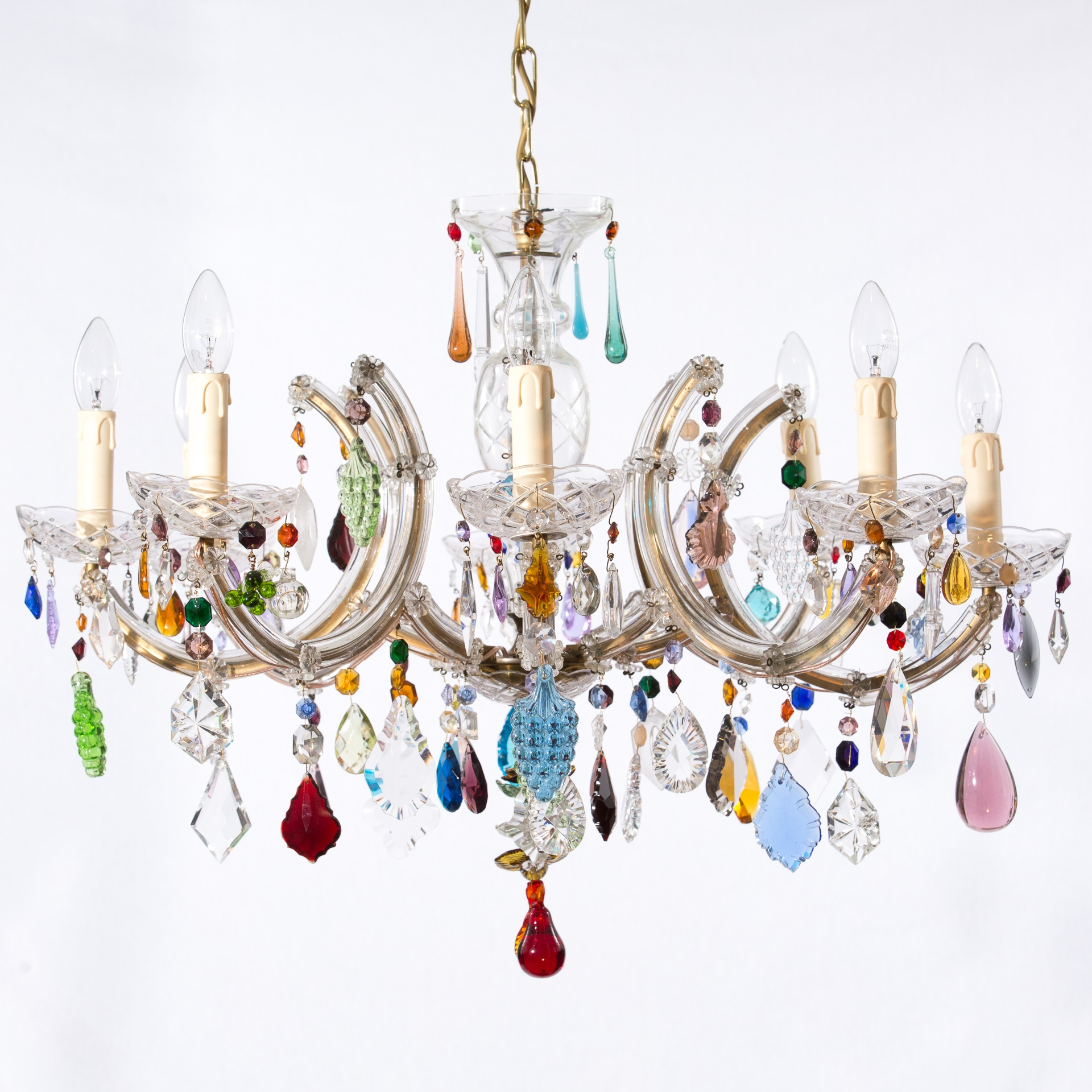 Chandeliers Honeybee Interiors Pertaining To Colourful Chandeliers (Image 6 of 15)