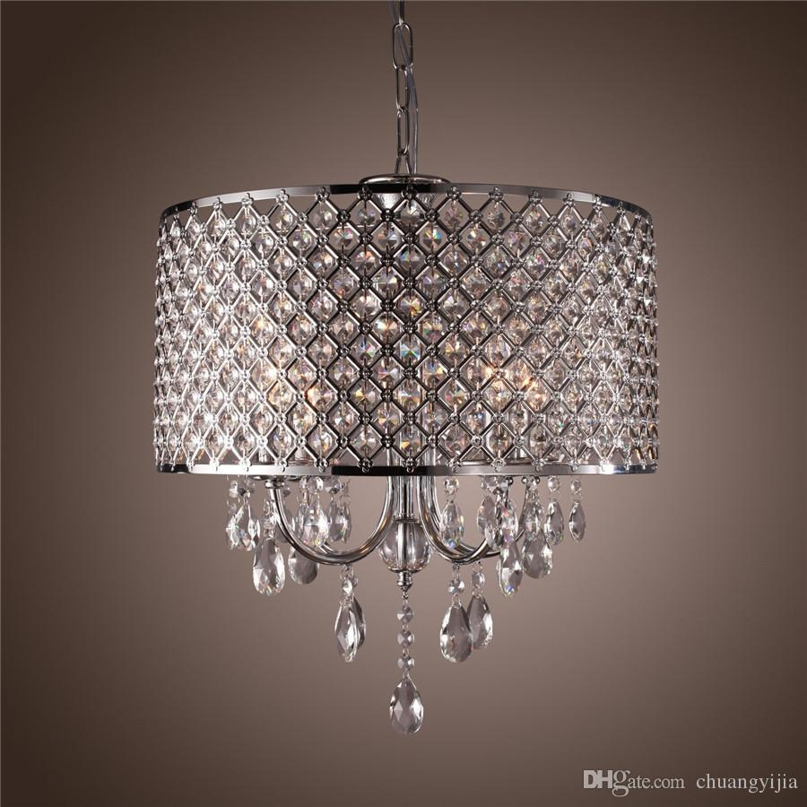 Chandeliers Modern Throughout Modern Silver Chandelier (Photo 8 of 15)