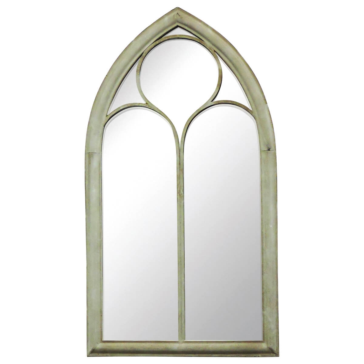 Charles Bentley Chapel Garden Mirror Buydirect4u Pertaining To Gothic Style Mirrors (Image 4 of 15)