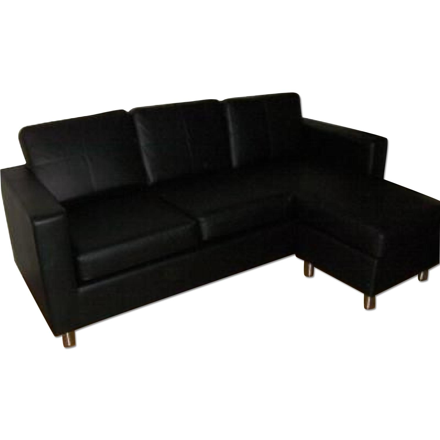 Cheap Black Sectional Sofa Tourdecarroll Intended For Black Sectional Sofa For Cheap (Image 7 of 15)