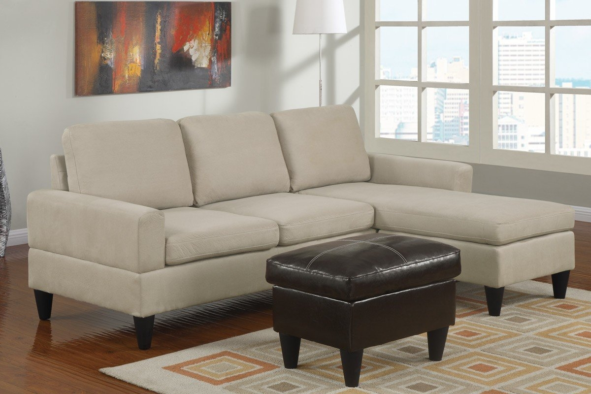 Cheap Used Sectional Sofas Hotelsbacau With Regard To Abbyson Living Charlotte Beige Sectional Sofa And Ottoman (Image 6 of 15)