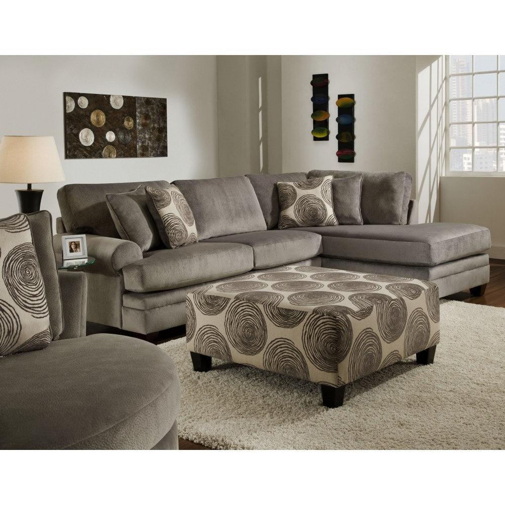 Chelsea Rayna Sectional In Groovy Smokebig Swirl Smoke Furn Throughout Champion Sectional Sofa (Image 5 of 15)