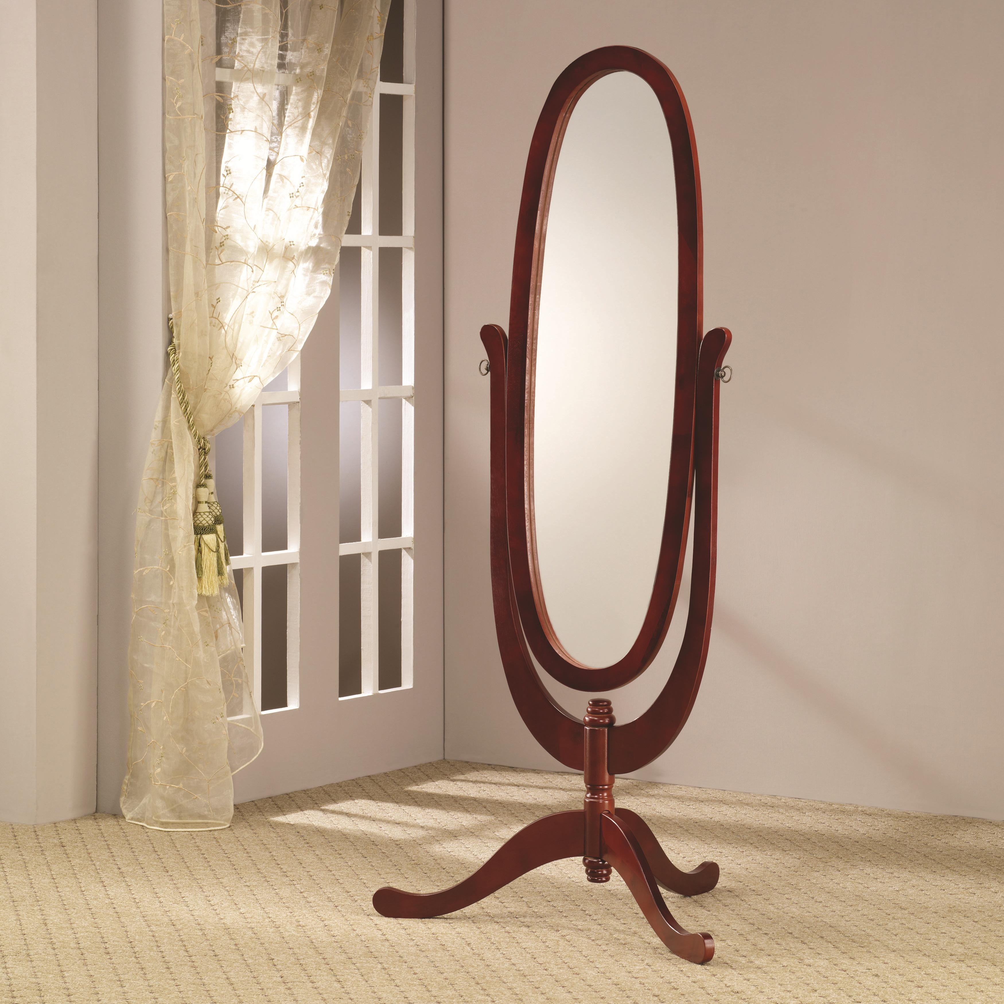 Cheval Mirror Home Plan Ideas Intended For Oval Freestanding Mirror (Image 4 of 15)