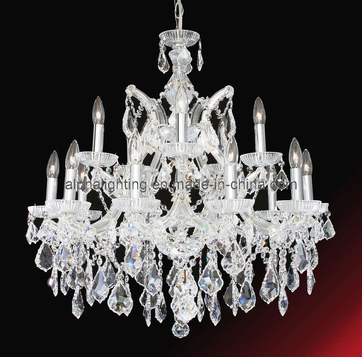 China Beauty Modern Crystal Chandelier Lamp Am2116 13 China With Regard To Beautiful Chandelier (View 15 of 15)