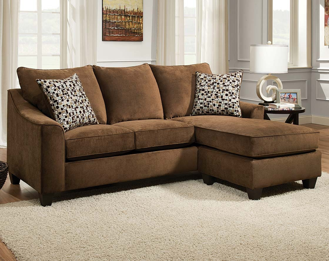 Chocolate Brown Sectional Sofa With Chaise Hereo Sofa With Chocolate Brown Sectional Sofa (Image 11 of 15)