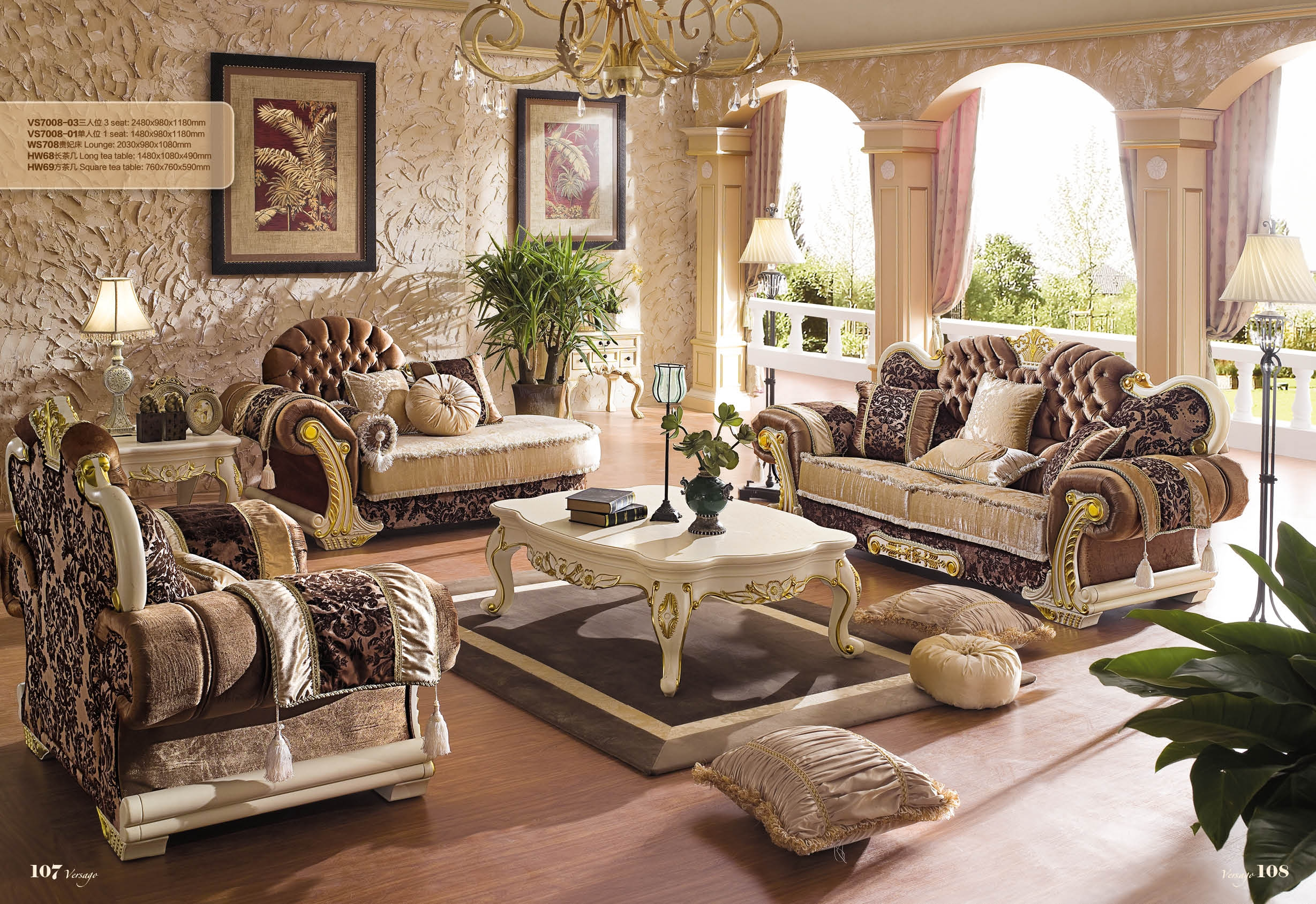 Choose European Style Sofa China Made 2013 China Sofa Factory Direct Regarding European Style Sofas (Image 4 of 15)