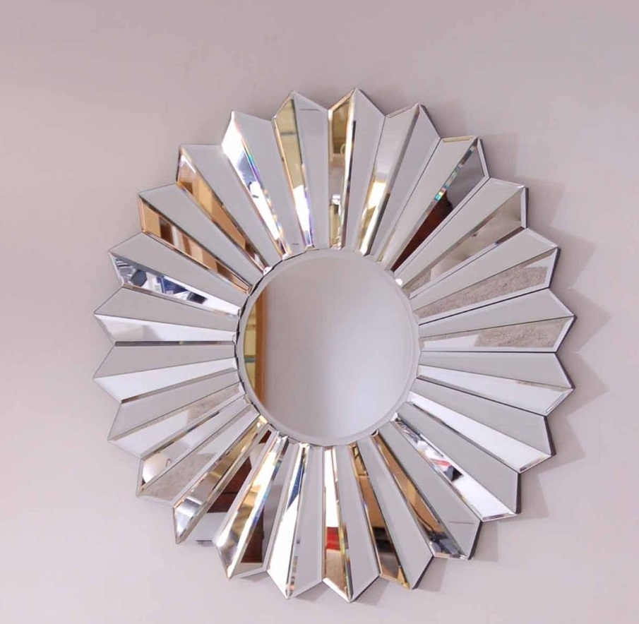 Choose The Right Large Decorative Mirrors Beautiful House Design Within Contemporary Round Mirrors (Image 1 of 15)