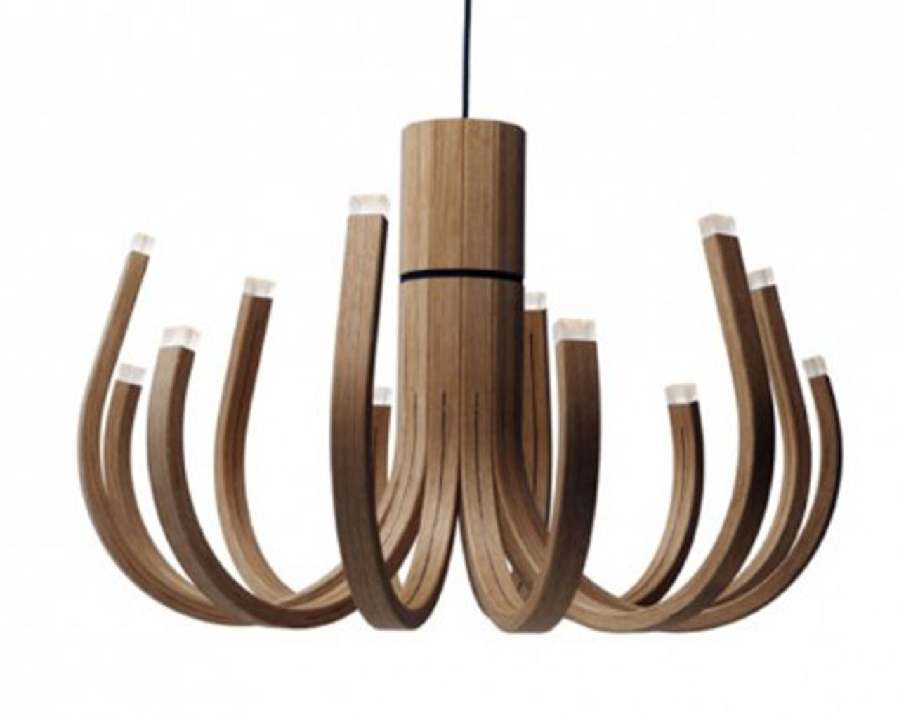 Choosing The Perfect Chandelier For Your Home Modern Chandelier In Wooden Chandeliers (Image 6 of 15)