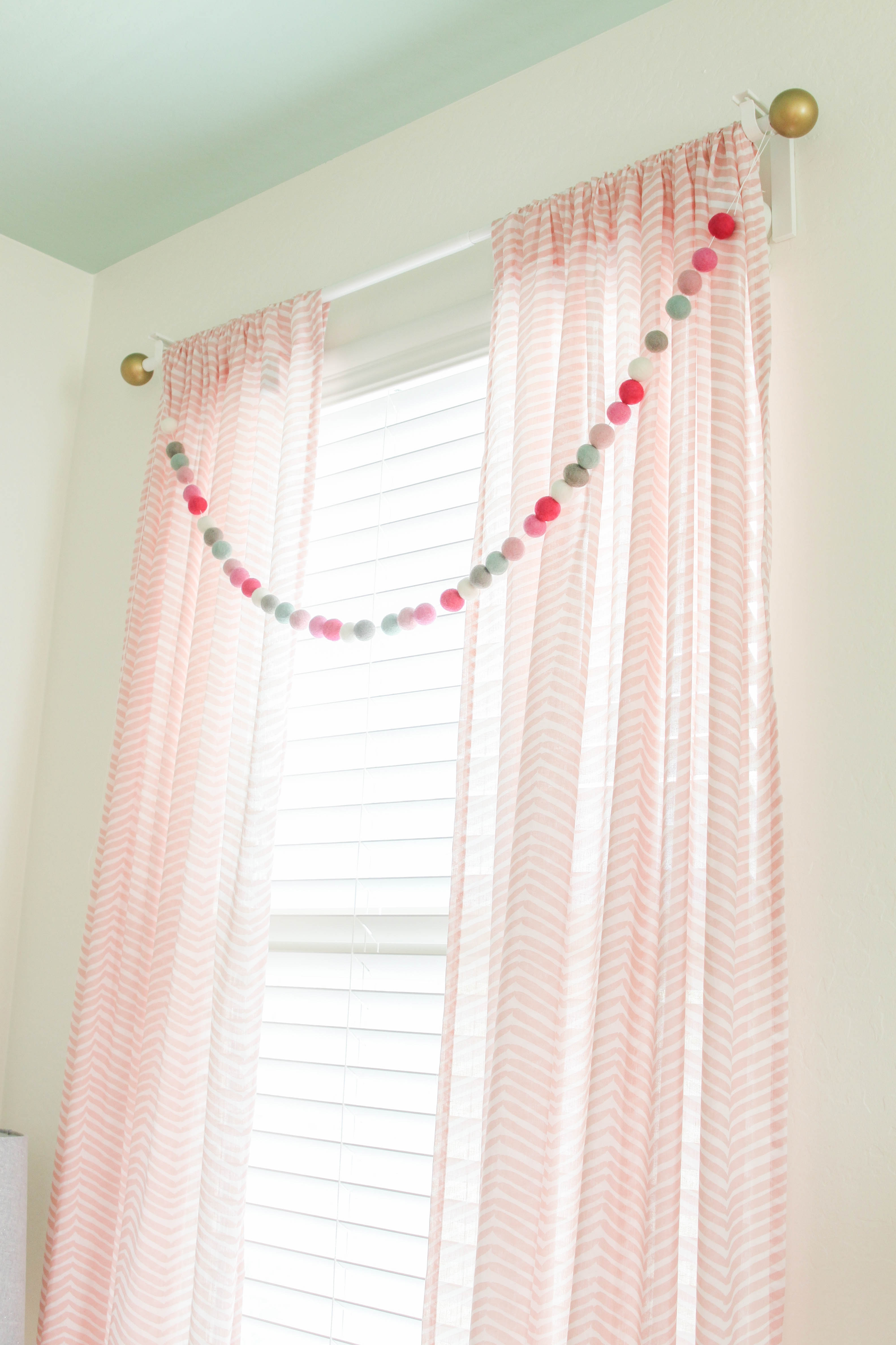 Choosing Your Nursery Window Treatments Interior Design Explained In Nursery Curtains (Image 5 of 15)