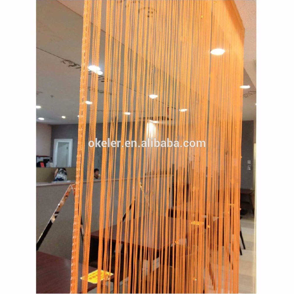 Christmas Wholesale 3m X 3m Orange Window Door Room Home Decor Intended For Main Door Curtains (View 8 of 15)