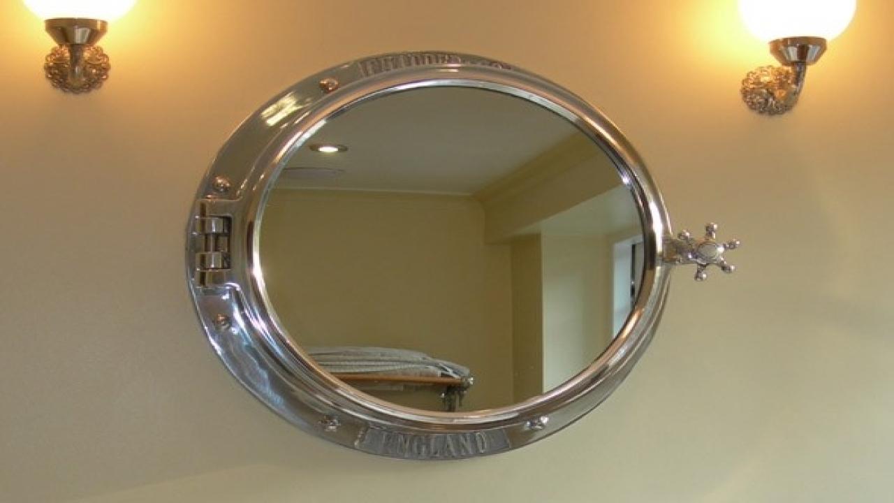 Chrome Bathroom Mirrors Porthole Bathroom Mirror Cabinet Porthole With Regard To Chrome Porthole Mirror (Image 5 of 15)