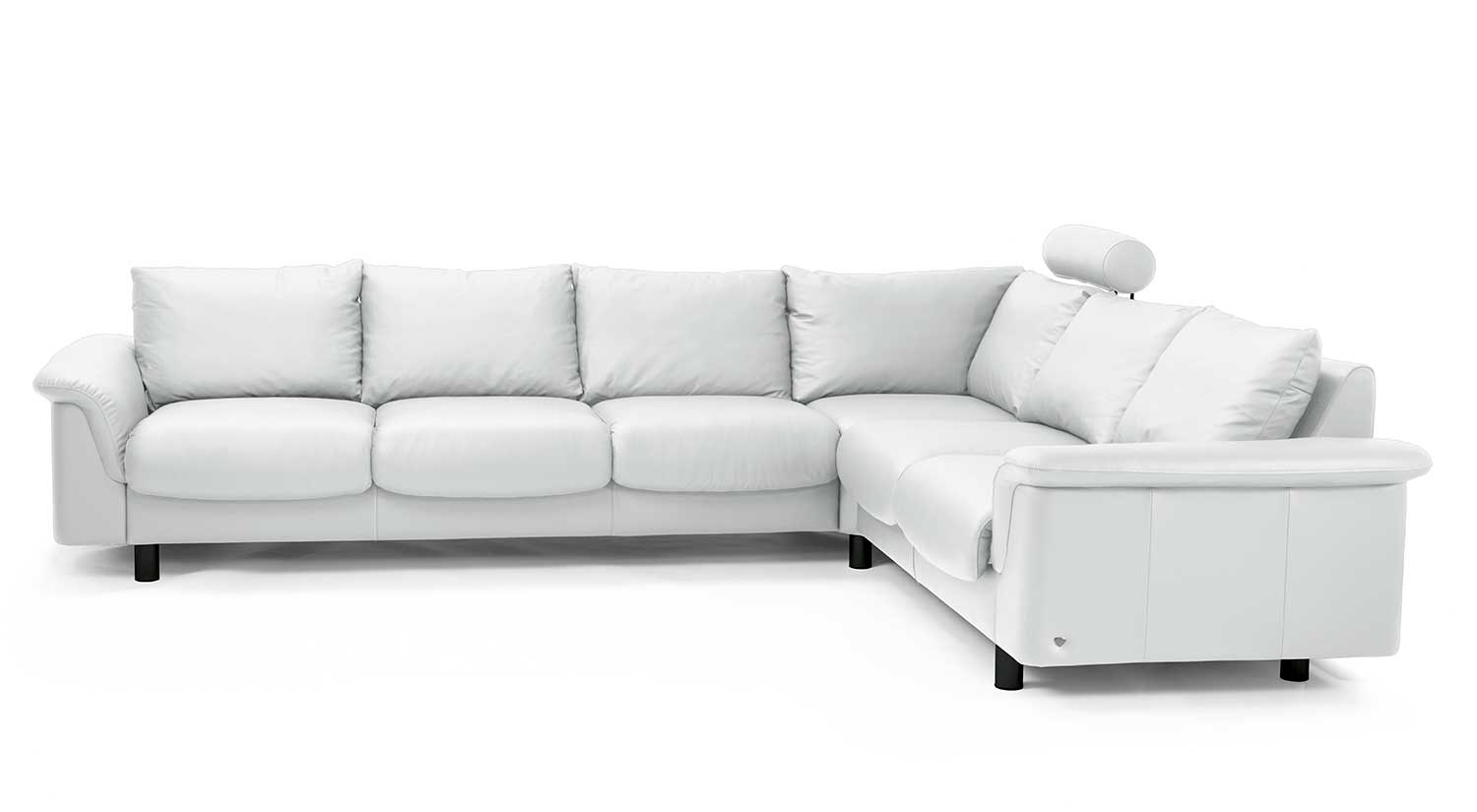 Circle Furniture E300 Ekornes Sectional Designer Sectionals Ma With Ekornes Sectional Sofa (Image 3 of 15)