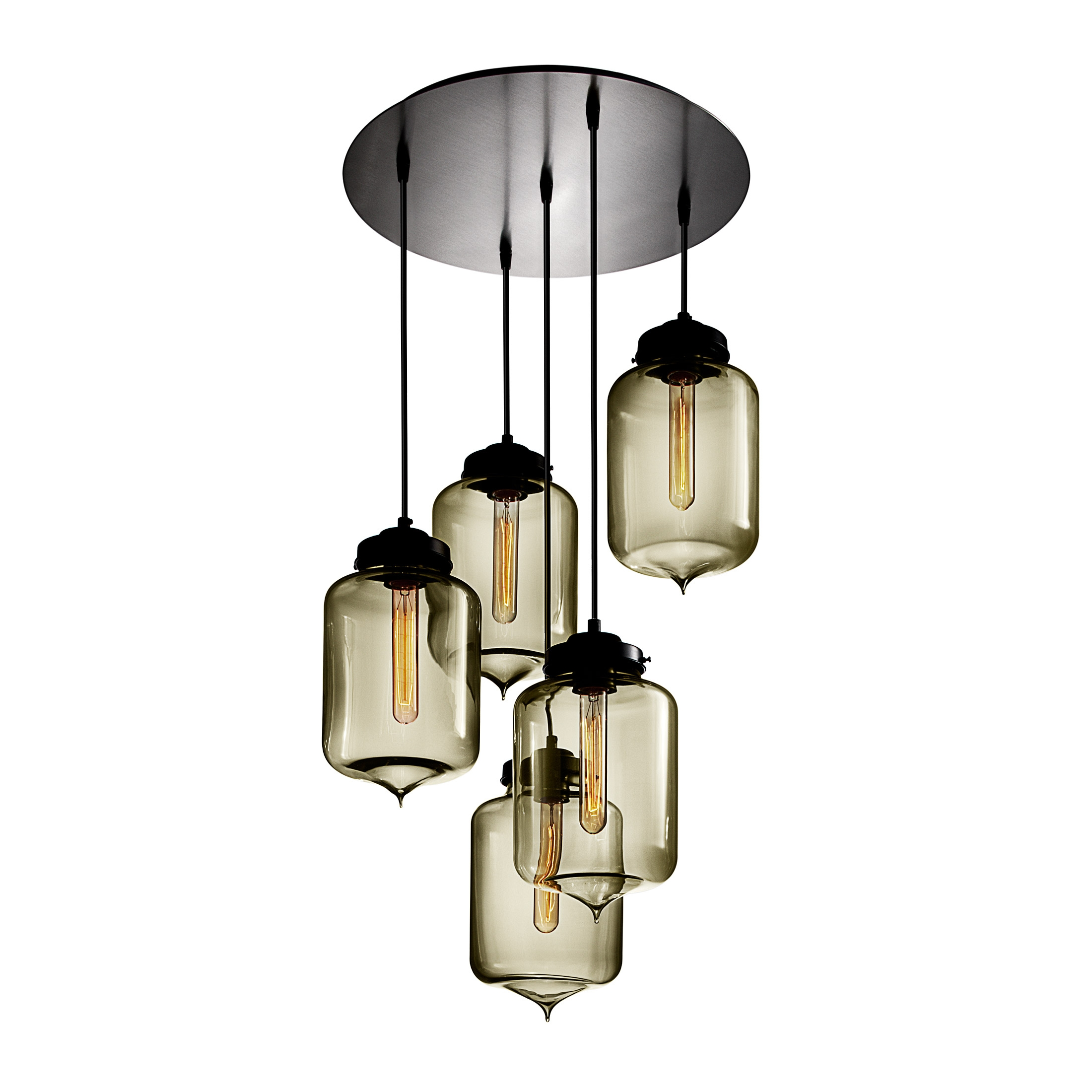 Circular 5 Modern Chandelier On Designer Pages With Regard To Modern Chandelier (Image 7 of 15)