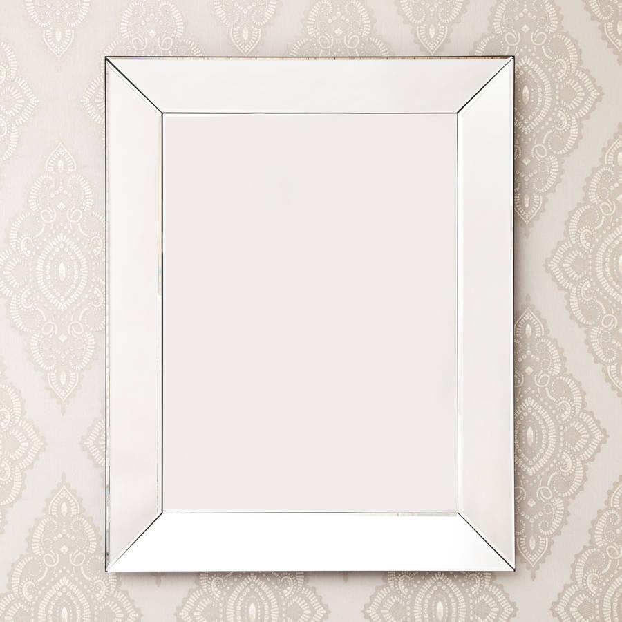 Classic Plain Venetian Mirror Decorative Mirrors Online Pertaining To Square Venetian Mirror (View 2 of 15)