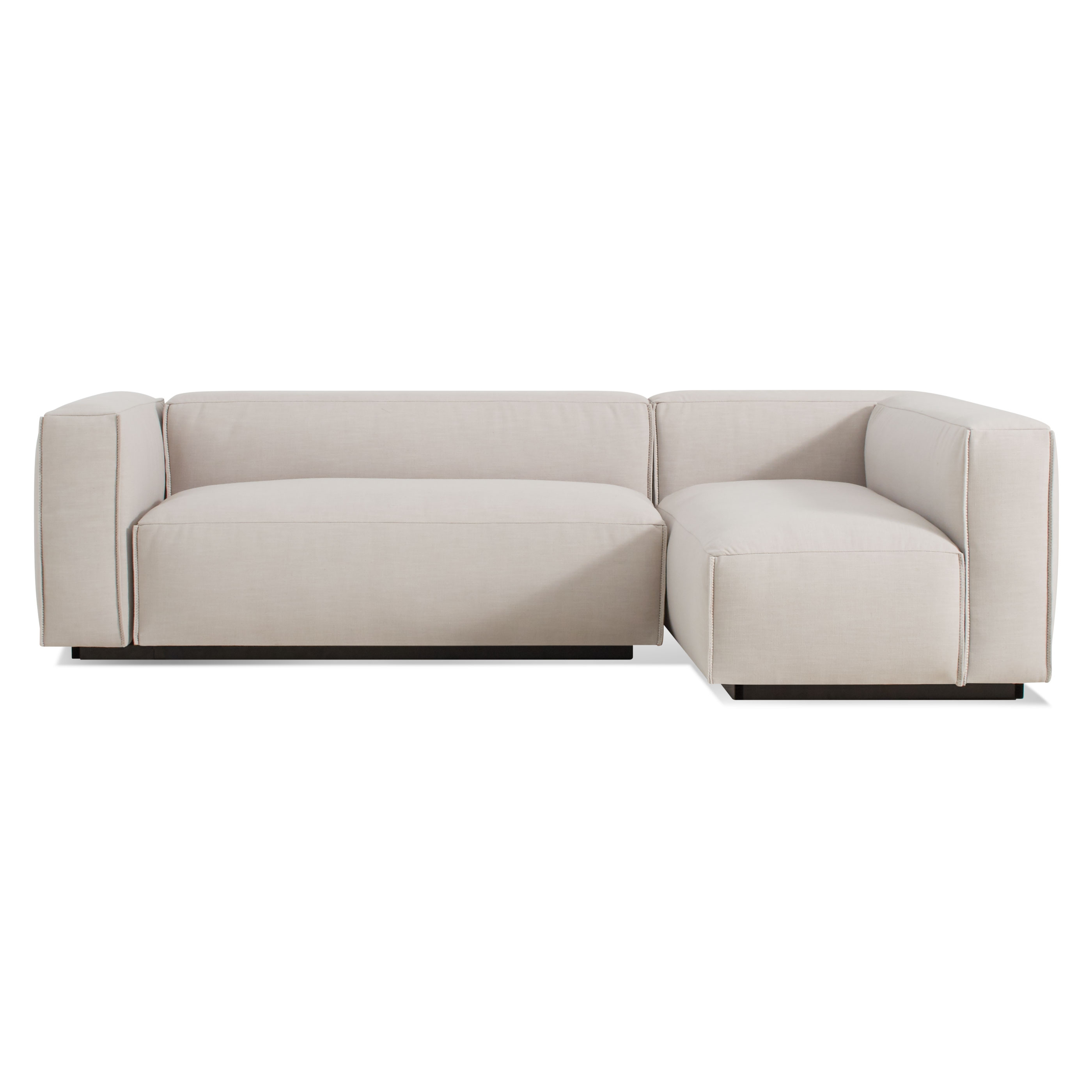 Cleon Small Modern Sectional Sofa Blu Dot Intended For Small Sectional Sofa (Image 1 of 15)