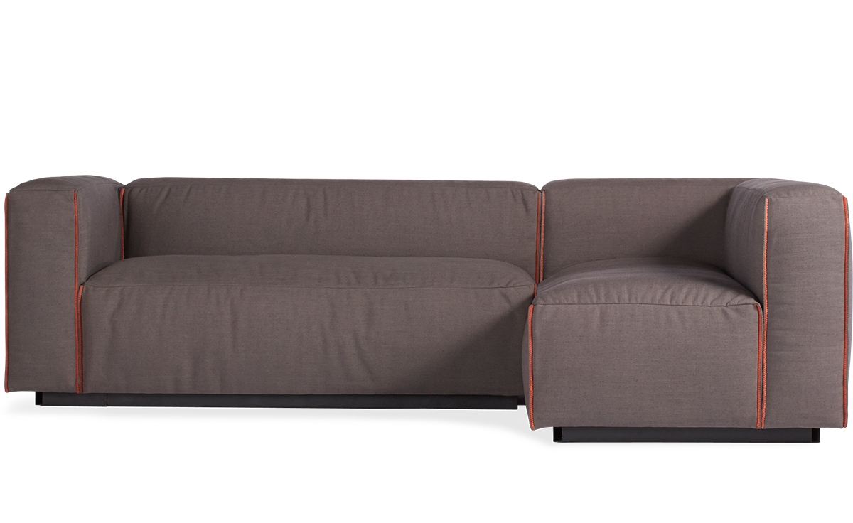 Cleon Small Sectional Sofa Hivemodern In Small Sectional Sofa (Image 2 of 15)