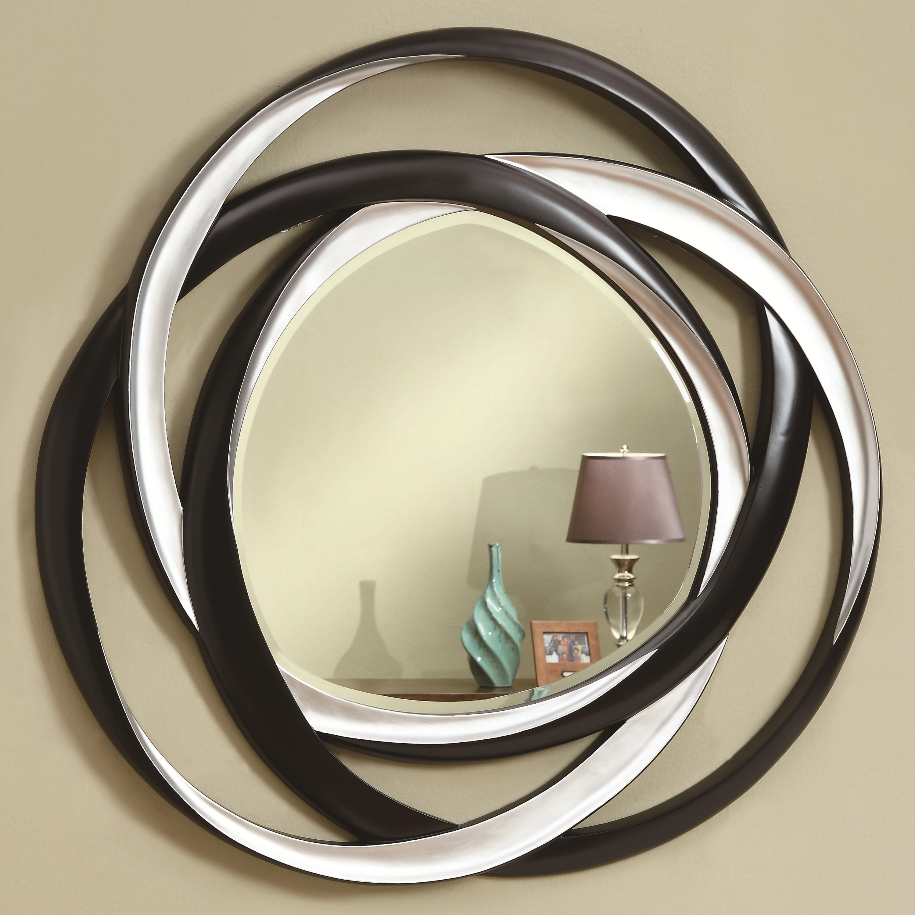 Coaster Accent Mirrors Two Tone Contemporary Mirror Prime Within Contemporary Mirror (Image 3 of 15)