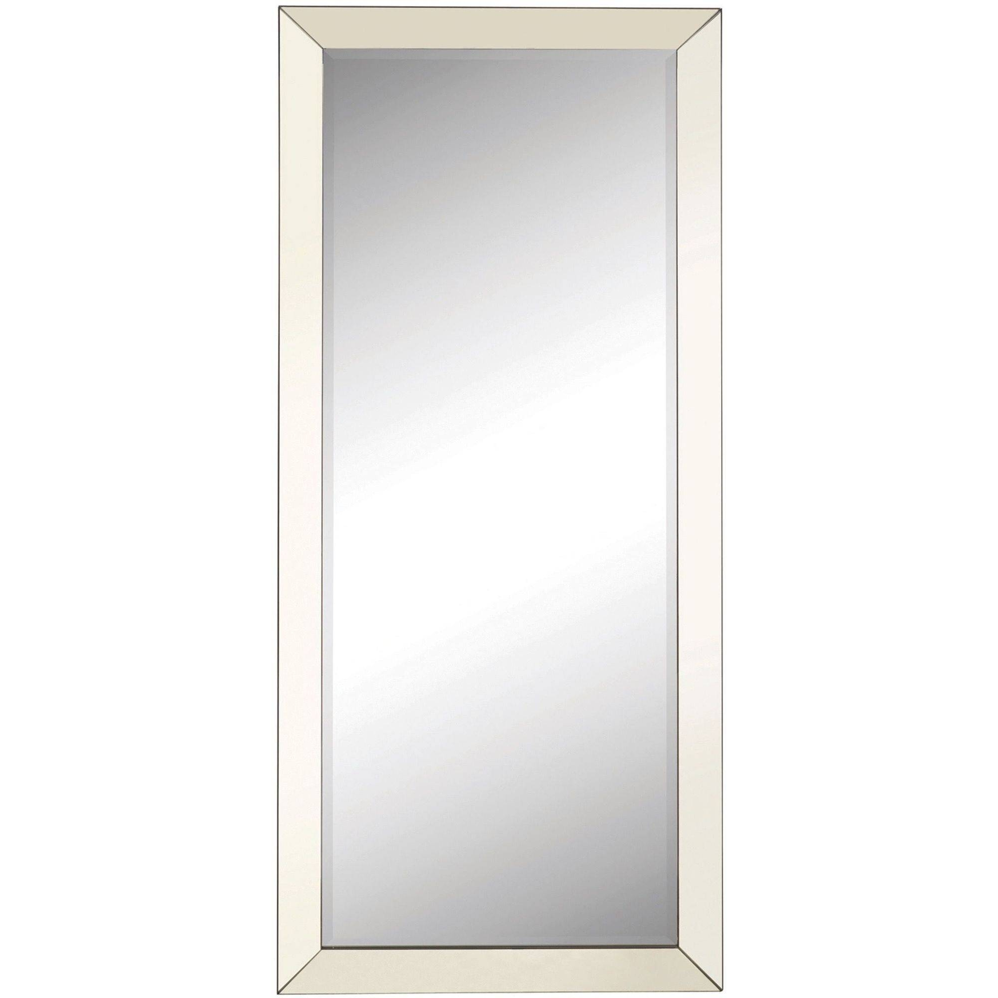 Coaster Company Silver Beveled Mirror Walmart Inside Silver Rectangular Mirror (Image 3 of 15)
