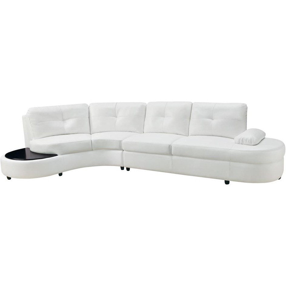 Coaster Furniture 503431 Talia Contemporary Sectional Conversation Within Conversation Sofa Sectional (View 14 of 15)